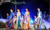 Ханойский фестиваль женского платья «ао-зай»