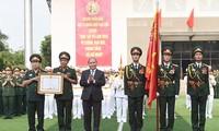 Военно-политическая академия была награждена орденом «За боевую доблесть»