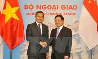 Фам Бинь Минь провёл переговоры с главой МИД Сингапура