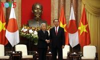 Президент Вьетнама Чан Дай Куанг провёл встречу с императором Японии