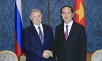 Президент СРВ Чан Дай Куанг посетил Санкт-Петербург