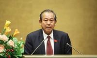 Вице-премьер Чыонг Хоа Бинь находится в Сингапуре с официальным визитом