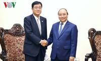 Премьер Вьетнама принял исполнительного директора корпорации Mitsubishi Motors