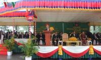 Генсек ЦК КПВ: необходимо усиливать сотрудничество между районами Вьетнама и Камбоджи