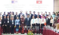 В Дананге прошла встреча сотрудников канцелярий парламентов Вьетнама и Лаоса