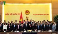 Нгуен Тхи Ким Нган приняла делегацию молодых депутатов парламента Японии