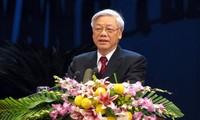 Нгуен Фу Чонг встретился с лидером Индонезийской демократической партии борьбы