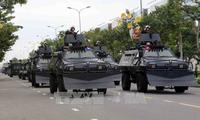 Генеральная репетиция по обеспечению безопасности во время Недели саммита АТЭС