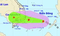 Провинции выполняют служебную телеграмму премьера Вьетнама по противодействию тайфуну Кироги