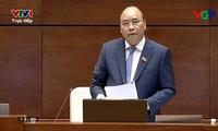 Премьер Вьетнама дал дополнительные ответы на вопросы, заданные депутатами