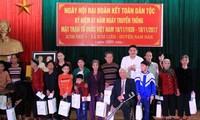 Нгуен Тхи Ким Нган приняла участие в празднике всенародной солидарности в провинции Нгеан