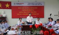 Вице-премьер Чинь Динь Зунг провёл рабочую встречу с руководством провинции Биньтхуан