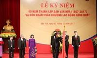 Вьетнамская газета «Культура» отмечает своё 60-летие