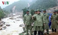 Чинь Динь Зунг руководил ликвидацией последствий дождевых паводков в провинции Лайтяу