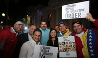 Venezuela collects signatures to protest US actions