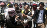Houthi rebels seize key parts of Yemen's third-largest city