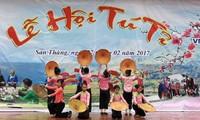 Singulares festivales culturales de las minorías étnicas en Lai Chau