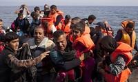 Marina de Libia salva a 129 inmigrantes en su mar