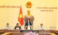 Continúan agenda de X reunión del Comité Permanente del Parlamento vietnamita