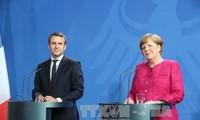Merkel y Macron buscan una refundación de la Unión Europea