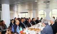 Robustecen relaciones entre la Asean y localidades italianas
