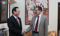 Vietnam profundiza la cooperación legislativa con Marruecos