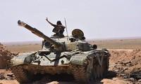 Ejército sirio y Hezbolá avanzan en el sureste de Al-Raqa