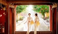 Mujeres vietnamitas con el Ao Dai, en fotos de DzungArt