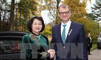 Vietnam y Finlandia abogan por desarrollar los nexos multifacéticos