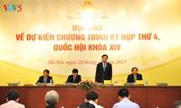 El cuarto período de sesiones del Parlamento de Vietnam se inaugurará el próximo 23 de octubre