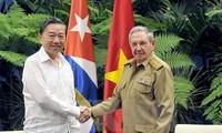 Vietnam y Cuba profundizan la cooperación en seguridad y defensa