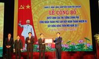 Ciudad norteña de Vietnam logra el objetivo de nueva ruralidad