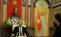 Visita a Japón del presidente vietnamita ayudará a fortalecer asociación estratégica bilateral
