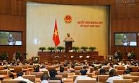 Clôture de la 2ème session de l'Assemblée nationale, 14ème législature