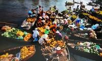 Les marchés multicolores du Vietnam