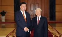 Nguyen Phu Trong en Chine
