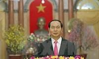 Voeux du président Tran Dai Quang