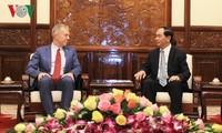 Tran Dai Quang reçoit l'ambassadeur des Etats-Unis au Vietnam