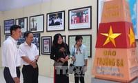 L'exposition «Hoang Sa, Truong Sa-les preuves historiques» à Hoa Binh
