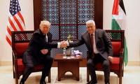 Donald Trump a rencontré Mahmoud Abbas à Bethléem