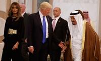 Premier voyage à l'étranger de Donald Trump