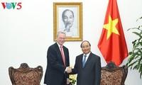Le Premier ministre vietnamien reçoit le PDG d'Alphabet