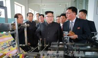 Kim Jong-un assiste au tir d'essai d'un système d'armes antiaériennes
