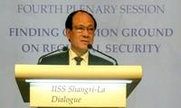 Clôture du Dialogue de Shangri-La 2017 à Singapour
