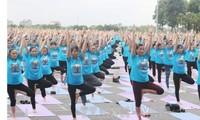 Journée internationale du yoga à Vinh Phuc : 1000 participants