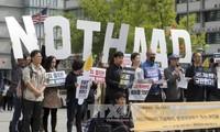 République de Corée : manifestation contre le bouclier antimissile américain