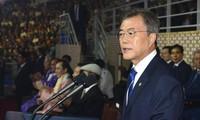 JO 2018 : le président sud-coréen souhaite la venue de Pyongyang