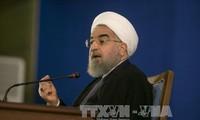 L'Iran ripostera aux sanctions américaines, avertit le président Rohani