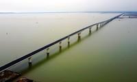 Inauguration du pont maritime le plus long  d'Asie du Sud-Est