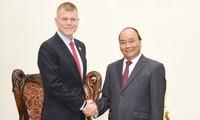 Un vice-président de la BAD reçu par le Premier ministre Nguyen Xuan Phuc